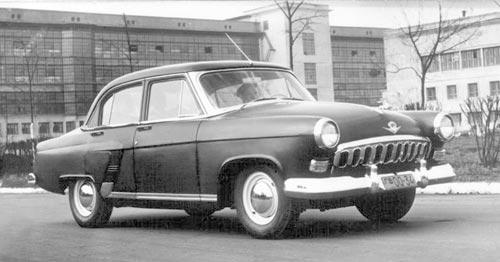Первая Волга, 1955год