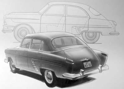 """Так должен был выглядеть автомобиль ГАЗ-21 """"Звезда"""" Джона Вильямса"""