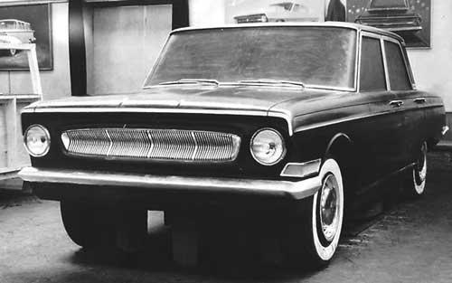Макет 1961 года