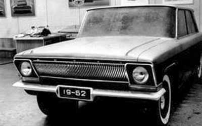 Макет ГАЗ-24 , 1962 г.