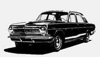Эскизы 1965 г. Показаны варианты с круглыми и прямоугольными фарами.