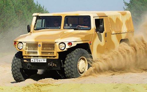Министерство обороны Российской федерации завершило испытания многоцелевых автомобилей ГАЗ-2975 Тигр.