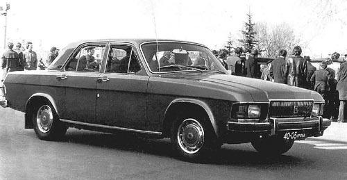Прототип «переходный» от ГАЗ-24 к 3102