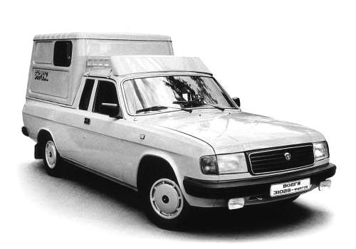 """ГАЗ-2304 """"Бурлак"""" фургон"""