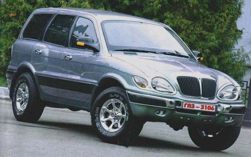 "ГАЗ-3106 ""Атаман-II"" образца 2000 года"