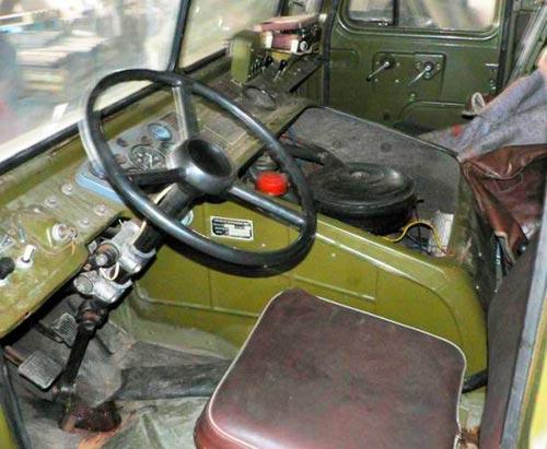 Интерьер ГАЗ-66